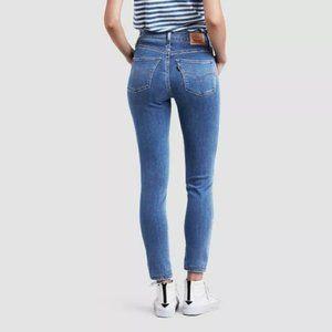 Levi's High Rise 720 Super Skinny Jeans